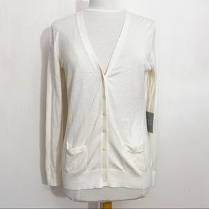NEW YORK LAUNDRY button up cardigan sweater L